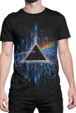 Pink Floyd Dark Side of the Moon T-Shirt by Stephen Fishwick