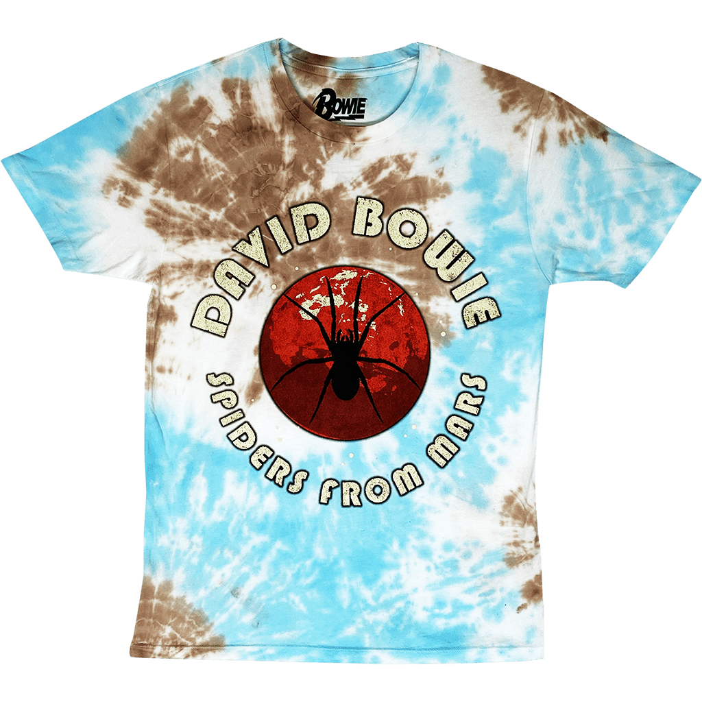 Get Down Art T-Shirt David Bowie Spiders From Mars Tie Dye T-Shirt