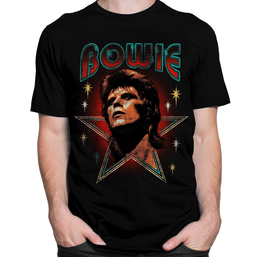 David Bowie with Stars T-Shirt
