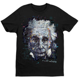 Einstein It's All Relative T-Shirt by Stephen Fishwick