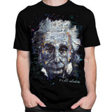 Get Down Art T-Shirt Einstein It's All Relative T-Shirt by Stephen Fishwick
