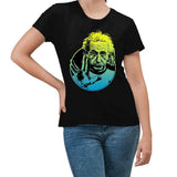 Einstein Live Long Black T-Shirt