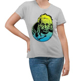 Einstein Live Long Silver T-Shirt
