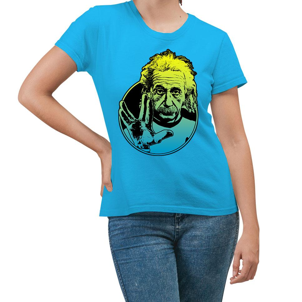 Einstein Live Long Turquoise T-Shirt