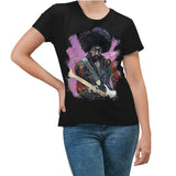 Jimi Hendrix Men's T-Shirt by Stephen Fishwick