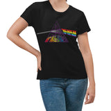Pink Floyd Dark Side Cover Text B T-Shirt