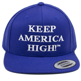 Keep America High Hat - Blue 6 Panel