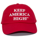 Keep America High Dad Hat - 6 Panel