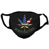 "Benito ""Medicated"" Reusable and Washable Anti-Germ and Pollution Face Mask Cover"