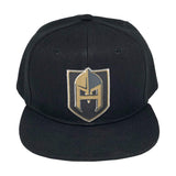 Hash Knight Hat - Black 6 Panel - IN STOCK!