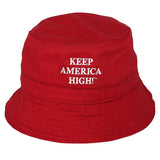 Keep America High™ headware Keep America High Bucket Hat for Marijuana Legalization
