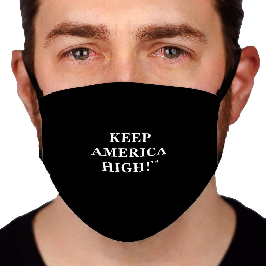 Keep America High™ Keep America High Black Face Mask