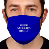 Keep America High™ Keep America High Blue Face Mask