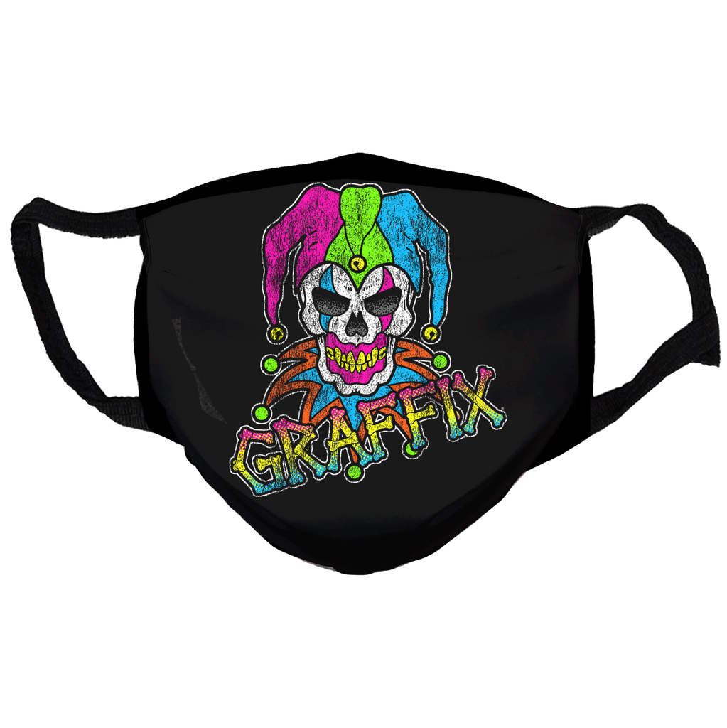 Keep America High™ Neon Graffix Logo Face Mask