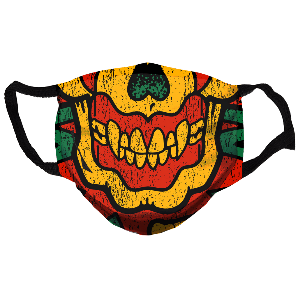 Keep America High™ Rasta Graffix Clown Face Mask