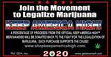 Take A Puff - Official Keep America High™ Campaign Cards