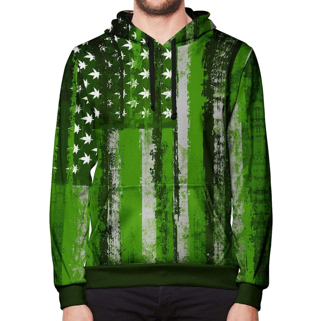 T6 Apparel United States of Marijuana Hoodie