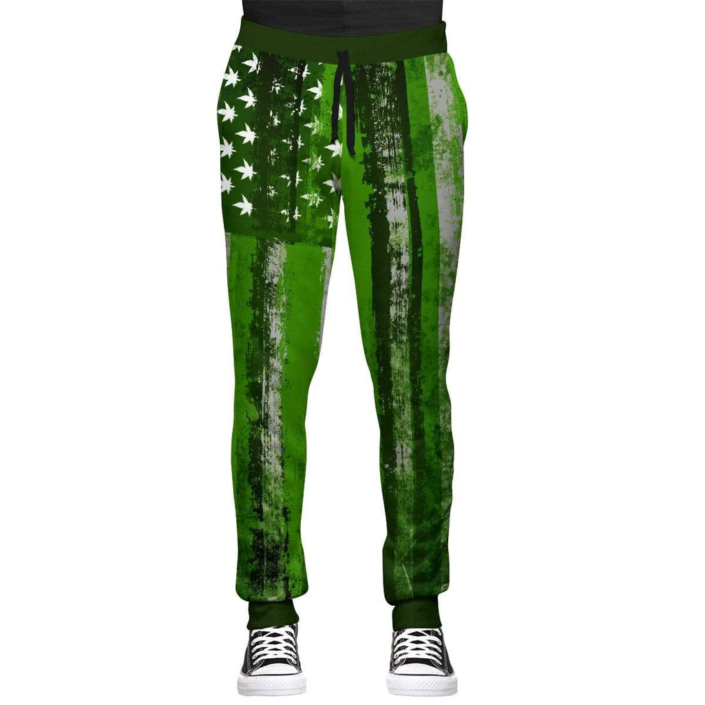 T6 Apparel United States of Marijuana Joggers