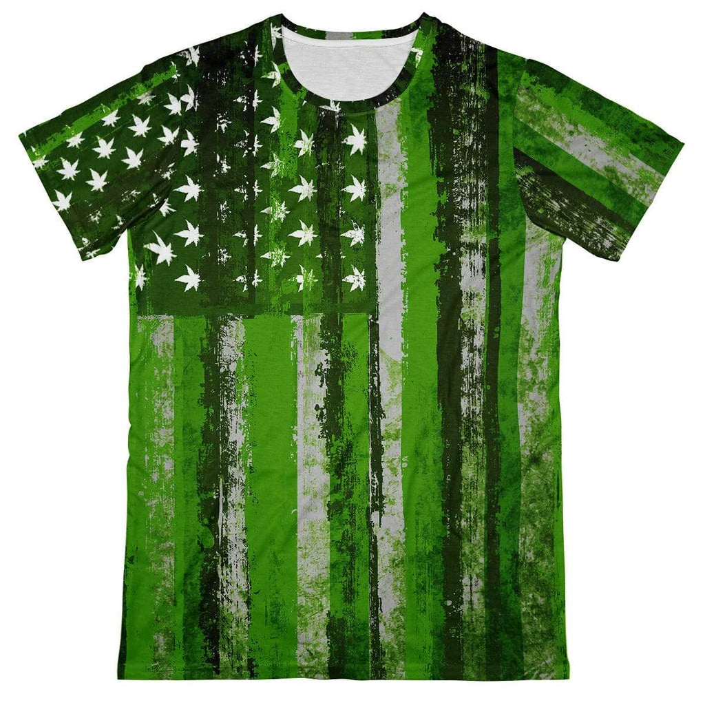 T6 Apparel United States of Marijuana Tee