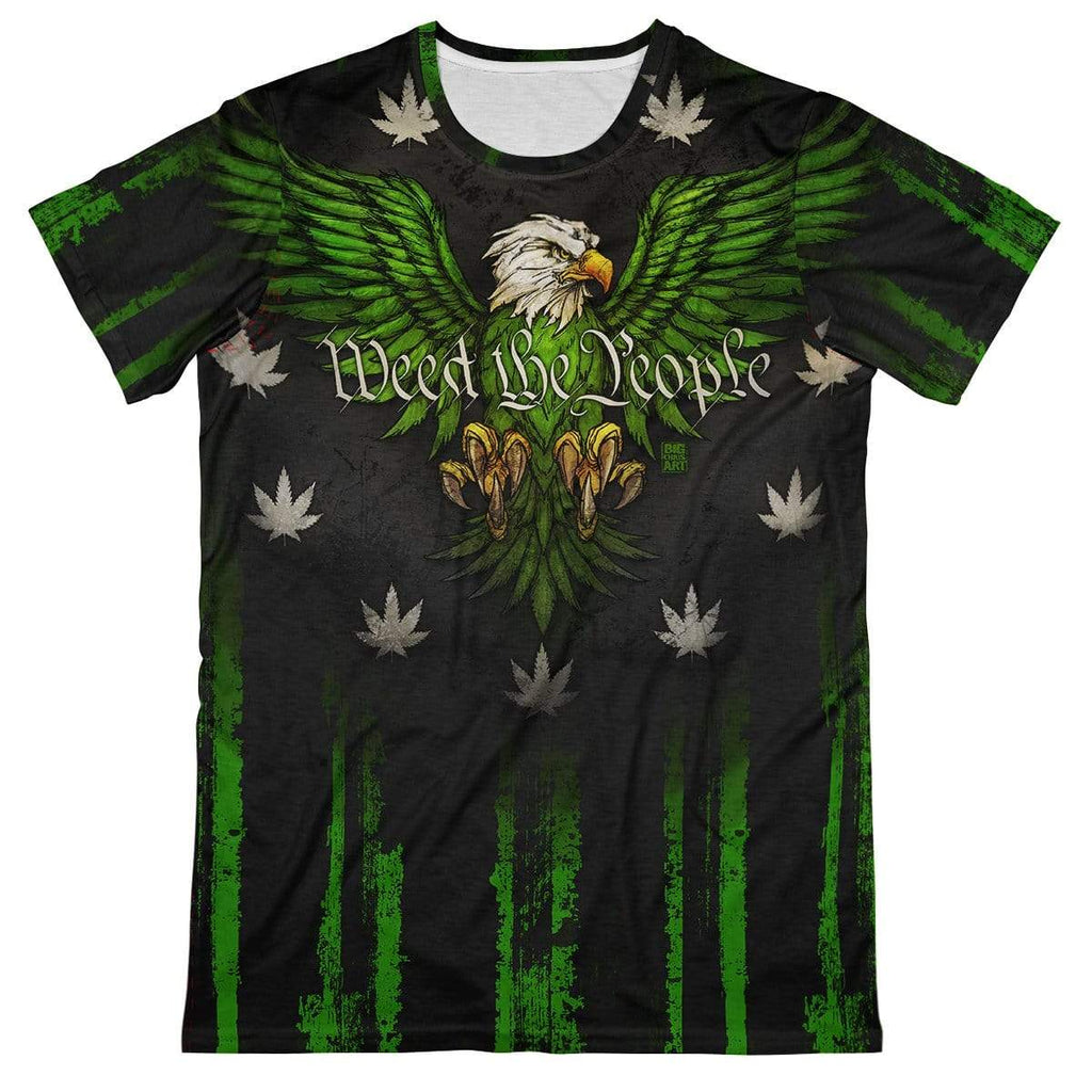 T6 Apparel Weed the People Tee