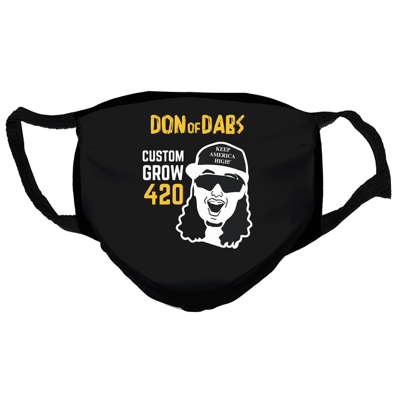 T6 Don of Dabs  Reusable and Washable Anti-Germ and Pollution Face Mask Cover