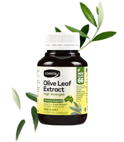 Comvita Olive Leaf Extract High Strength - 60 Capsules