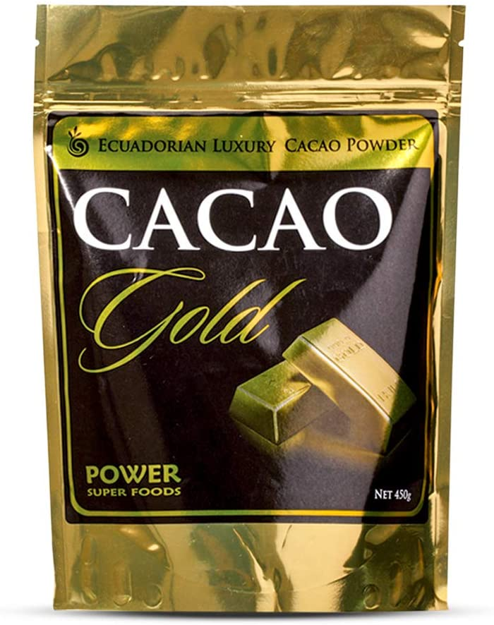 Power Super Foods Luxury Organic Cacao GOLD 450g