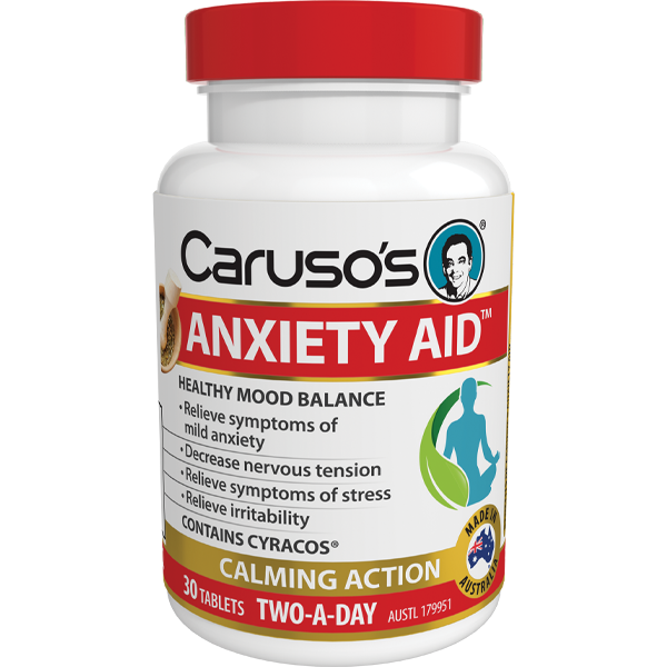 Caruso's Anxiety Aid - 30 Tablets