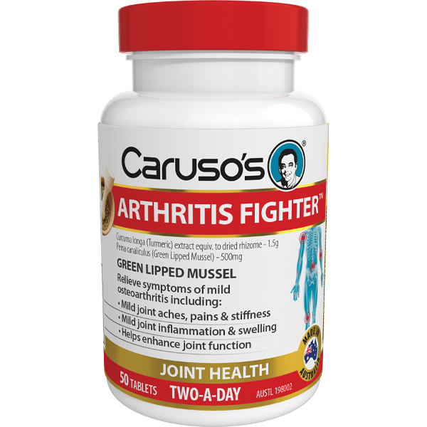 Caruso's Arthritis Fighter - 50 tablets