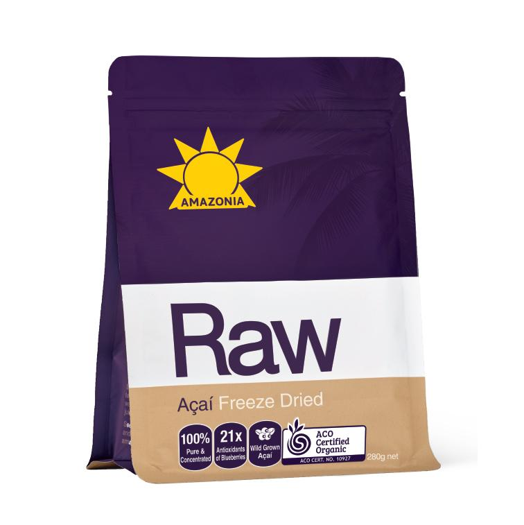 Amazonia Raw Freeze Dried Açaí 280g