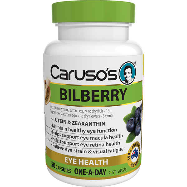 Caruso's Bilberry - 50 Tablets