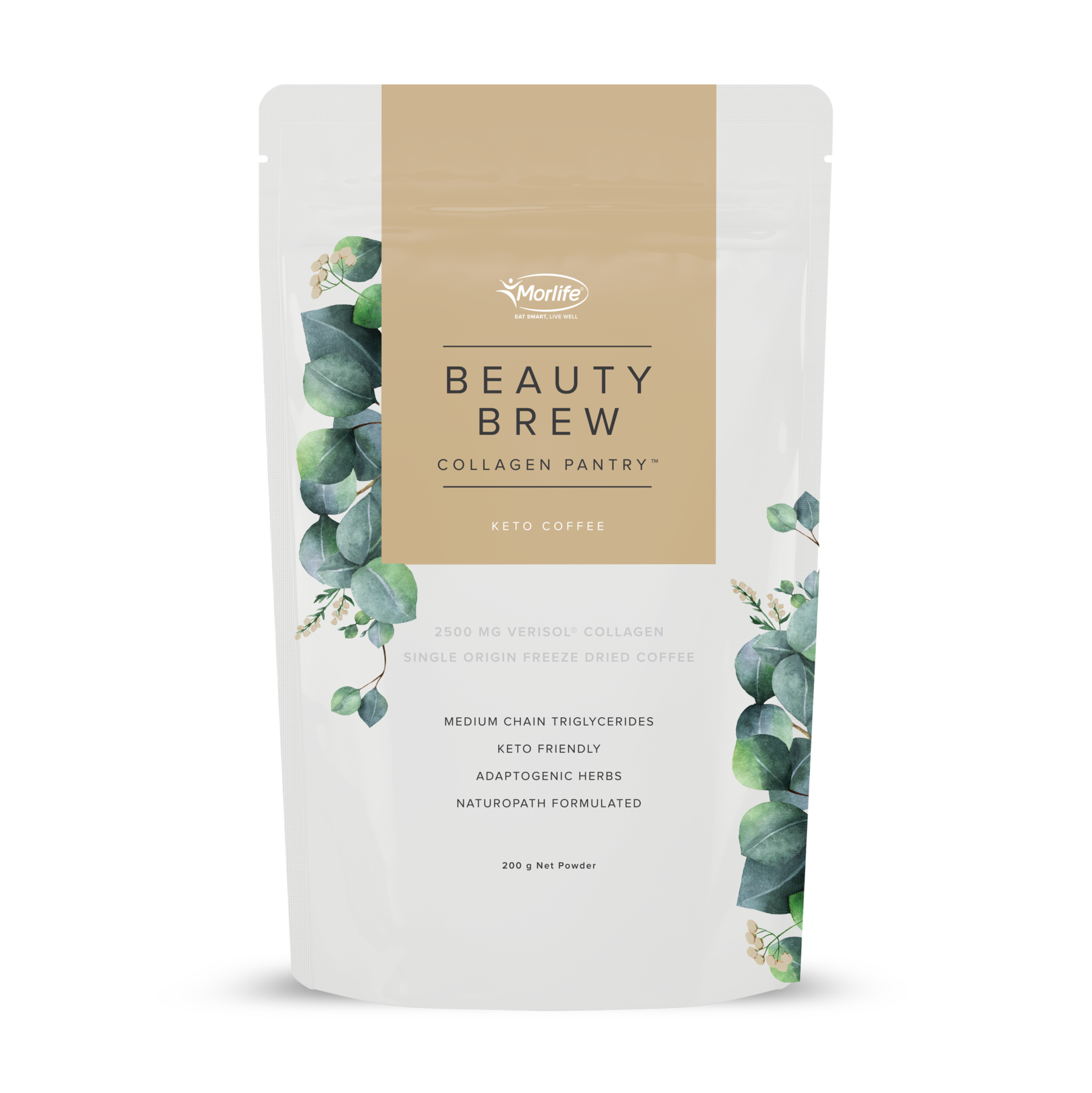 MORLIFE - BEAUTY BREW KETO COFFEE 200G
