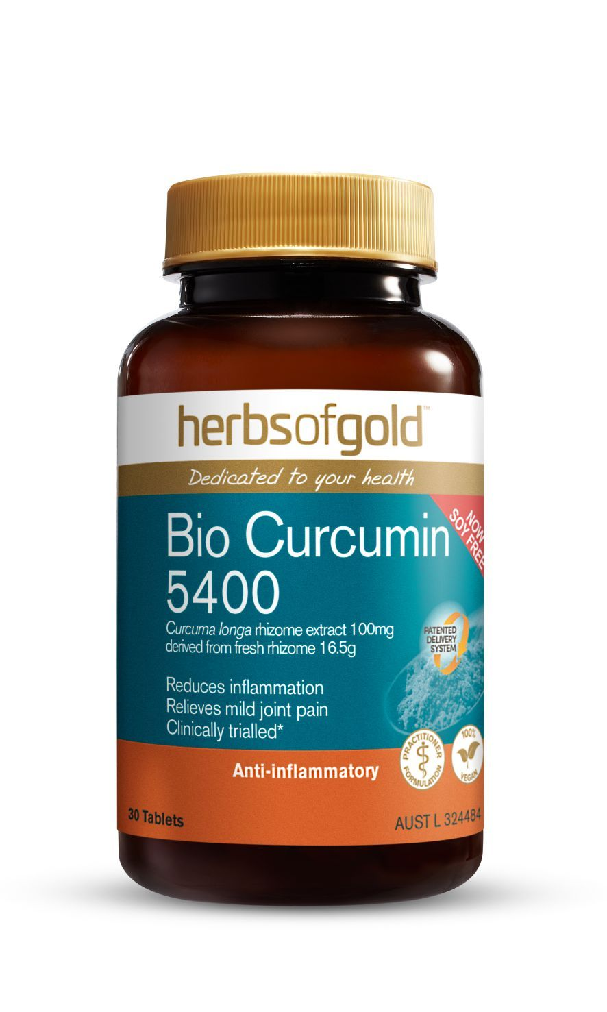 HERBS OF GOLD BIO CURCUMIN 5400 30T