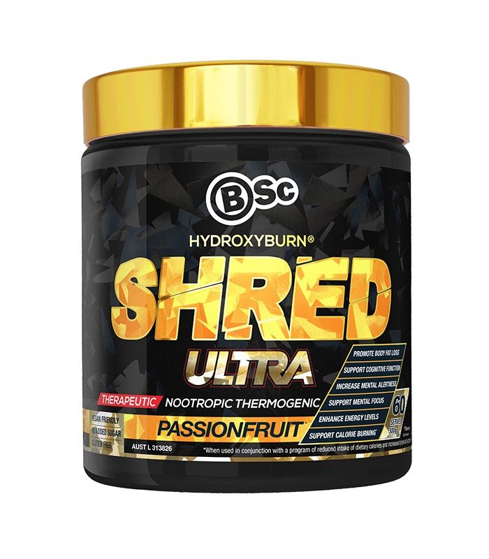 Body Science HydroxyBurn Shred Ultra Passionfruit 300g