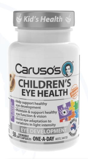 Caruso's Children's Eye Health - 50 Chewable Capsules