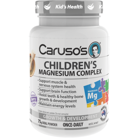 Caruso's Children's Magnesium Complex - 75g powder