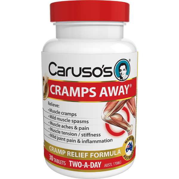 Caruso's Cramps Away - 30 Tablets