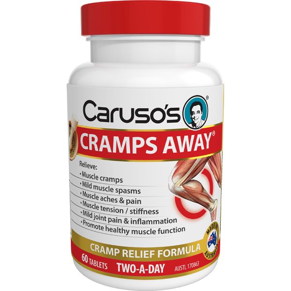 Caruso's Cramps Away - 60 Tablets
