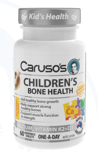 Caruso's Children's Bone Health - 60  Chewable Tablet's