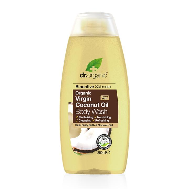 Dr. Organic Coconut Oil Body Wash 250ml