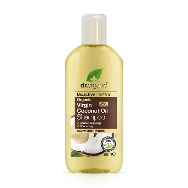 Dr. Organic Coconut Oil Shampoo 265ml