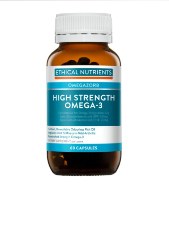 Ethical Nutrients High Strength Omega-3 60C