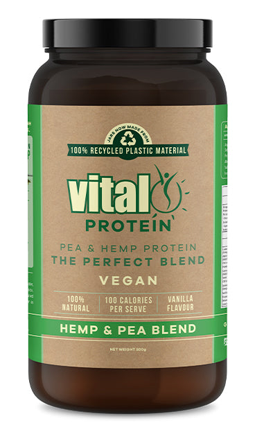 Vital Pea and Hemp Protein Powder 500g