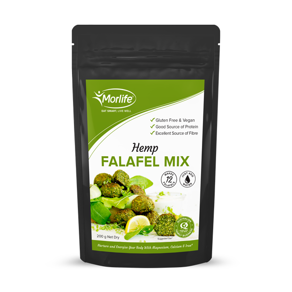 MORLIFE - HEMP FALAFEL MIX 200G