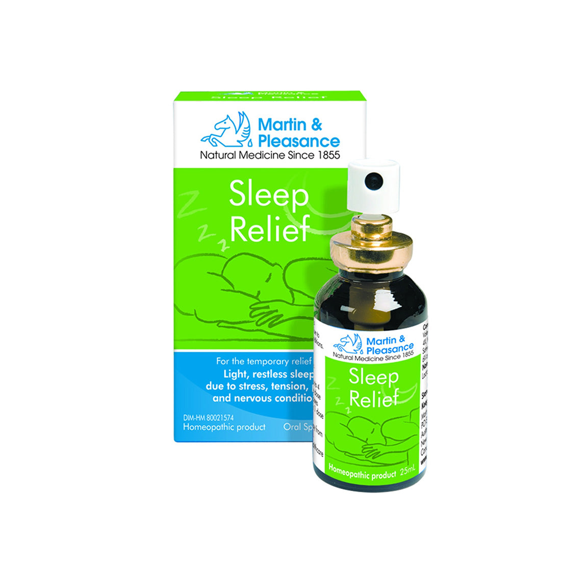 Martin & Pleasance Homeopathic Remedy Sleep Relief Spray 25ml