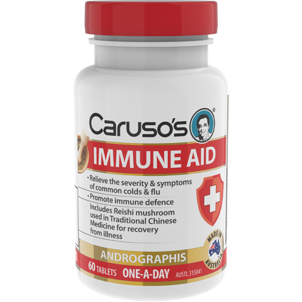 Caruso's Immune Aid - 60 Tablets