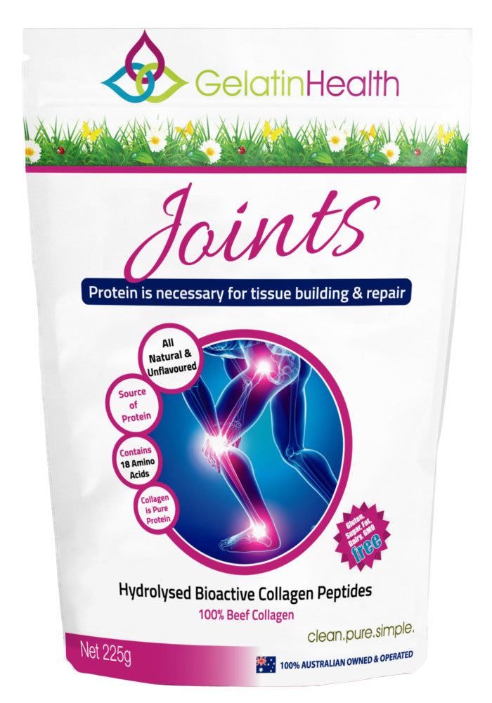 Gelatin Health - Joint Care Collagen Peptides 225g