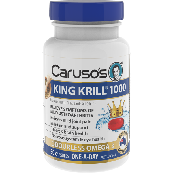 Caruso's King Krill 1000mg - 30 Capsules