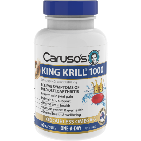Caruso's King Krill 1000mg - 60 Capsules