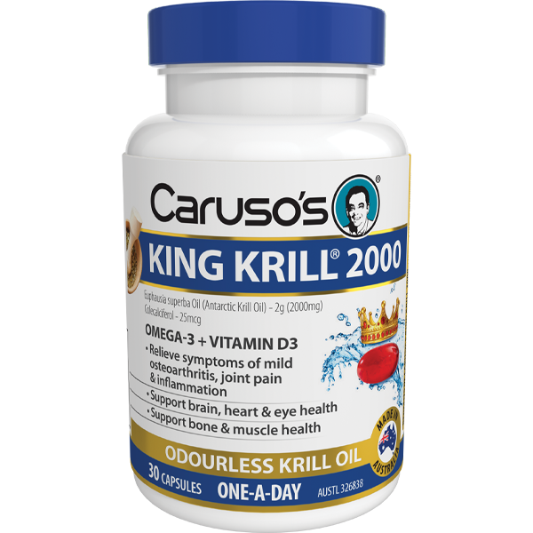 Caruso's King Krill 2000mg - 30 Capsules